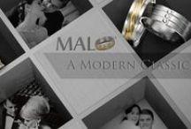 Malo Wedding Bands / A modern classic.