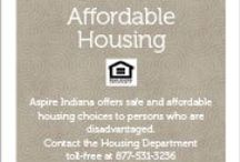 Aspire Indiana Housing / Furthering our mission to help our community with affordable housing.