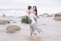beach wedding inspiration / inspiration for beach weddings