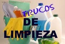 DIY {Cleaning Tips & Tricks} / Ideas geniales para la limpieza de toda la casa. / by Ana Roque