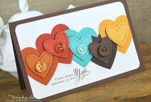 SCR ... Card Ideas MOST w/buttons / by Marilyn Houff