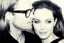 Angelina // Brad