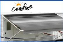 Carefree Awnings / Carefree's Roll out Awnings offer great protection in rain, hail or shine. Constructed from superior materials and can be fully setup in less than 60 seconds. Suitable for almost every type of RV including Caravans, Pop-tops and Motorhomes. And with our great selection of colours they will add great value to your RV.