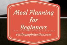 Home: Meal Planning / How to get started meal planning for real food diets. Simple ideas and dinner recipes for weekly, biweekly, and monthly meal planning