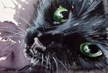 Cats / I love my cats more than most people and that scares me a little bit...