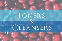 Toners and Cleansers / Superb Sulfate-free Cleansers that Remove Impurities Gently, yet Potently