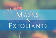 Masks and Exfoliants / Revitalizing Skin Renewal Treatments Enriched with Organic Earth Minerals and Plant Nutrients
