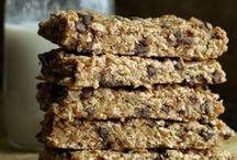 Recipes: Snacks / Homemade Granola Bars | Homemade Granola | Portable snacks for Kids | Dips | Easy Snacks