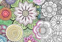 Adult Coloring Pages / Some of these may not be free, but there are a lot marked FREE, so take a look! I've had success with quite a few of them | Adult Coloring Pages