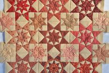 Alabama Star quilt / Antique quilt made in 1870 in Alabama. Free PDF pattern available at  www.jeanneke.com