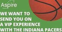 Aspire Loves the Indiana Pacers! / Aspire Indiana is sending employees to Indiana #Pacers games with VIP Experiences! #NBA
