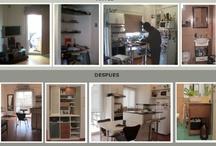 Obra Villarroel / Remodelación departamento de 2 amb. Año 2012