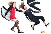 FW 2013-14   Just a question of balance / Le stiliste definiscono i loro abiti Idee di stoffa da mettere addosso. Idee che si materializzano con fili e stoffe, ispirate dal mondo dell'arte nelle sue molteplici espressioni (teatro, cinema, pittura, fotografia, poesia), e alimentate dalle sfumature della quotidianità, oltre che dalle relazioni.