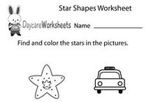 Preschool Shapes Worksheets / These are free shapes worksheets for preschoolers. Kids can have fun coloring the images and learning about different shapes.