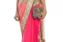 sarees and  indian outfits