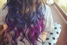 Hairchalk / Mechas de colores