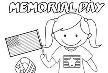 Memorial Day Worksheets and Activities / These are fun Memorial Day worksheets and activities. There are some great ideas to celebrate Memorial Day with kids.