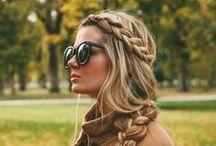 Peinado con anteojos / Glasses hairstyle / Peinados, belleza