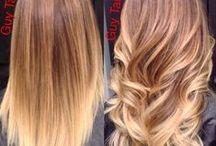 Balayage / Balayage tono de pelo