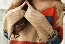 Autumn & Winter Clothes / Coats & jackets & sweaters & who knows what else :)