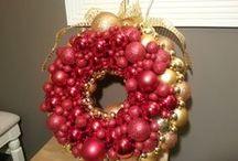 Julepynt hjemmelaga og div / Ting jeg lager selv