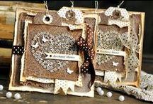 Cards so beautiful... / Wunderschöne Handmade-Karten die bis den kleinsten Einzelheiten bearbeitet sind...