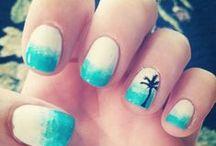 Summer Manicures / Manicure de verano / Manicure de verano