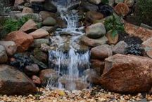 "Water Features / Water Features, Ponds and Streams       ""May it flow, as easy as water"""