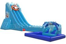 Inflatable Water Slide / All the commercial inflatable water slides from Channal Inflatables. It is summer time, all kids and adults need a blow up water slide to have fun. https://www.channalinflatables.com/category/inflatable-water-slides/