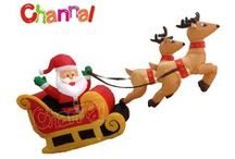 Holiday Inflatables / Holiday inflatables include blow-up models for Christmas, Halloween, Easter and other holidays. Can be used for both decoration and advertising.