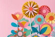 Paper / Papier / Paper crafts / Bricoler avec du papier