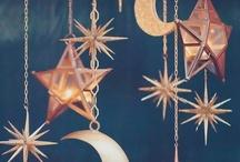 Dark Glamour / Gold / Black / Grey / Moons / Stars / Owls / Feathers / A little bit Goth / A little bit Shiny