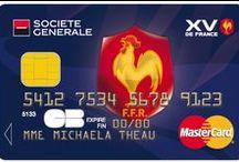 Cartes Collection Sport / Des cartes Société Générale pour exprimer votre passion du sport. Football, rugby, golf, tennis, surf... à vous de jouer !