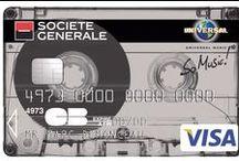 Cartes Collection So Music / Pour vous faire vivre une expérience musicale unique, Société Générale s'est associée à Universal Music. Vous accédez à vos avantages sur www.somusic.fr