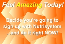 Nutrisystem Motivation / Get motivated to start losing weight the easy way with Nutrisystem. All you have to do is take the plunge and sign up. It's so easy, almost anyone can do it who has a mind to do this for themselves!