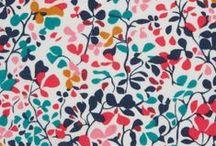 Fabric / Tissu / Lovely fabrics / Jolis tissus