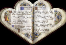 Books of the Heart - Cordiform Manuscripts / by Maureen Cox-Brown
