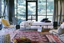 Inspirational Interiors / Interior styles, colour schemes, furnishings and products from around the globe.