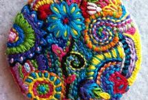 Hand Embroidery / Colorful stitchy stuff...especially freeform! / by michelle weatherson