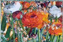 Flowers and leaves / Art work that I like / by Cecelia French