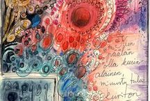 Art Journals / My latest passion...combining art with words. / by michelle weatherson