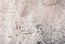 The world of Lace / Accents, details and inspirations from this romantic fabric