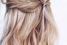 Hairstyles & Make up crush / Our favorite inspirations for hair & make up.