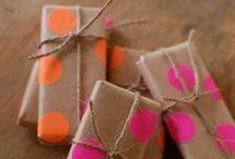 Envolviendo regalos / Los empaques más lindos. Los que hacemos nosotros y los que encontramos en las redes.