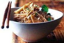 Cuisine asiatique / La cuisine asiatique dans tous ses états : saveurs, épices, goûts et techniques.