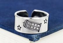 Doctor Who Jewelry / Doctor Who Inspired Rings, Bracelets and Keychains