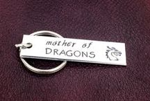 Game Of Thrones Jewelry / Game Of Thrones Inspired Rings, Bracelets, and Keychains.