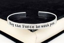 Star Wars Jewelry / Star Wars Inspired Rings, Bracelets and Keychains.