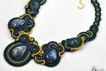 Soutache necklace / pendants