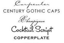 Fée de la typographie